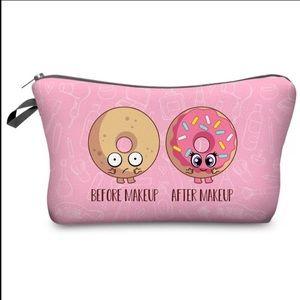 Makeup Cosmetic Bag donuts